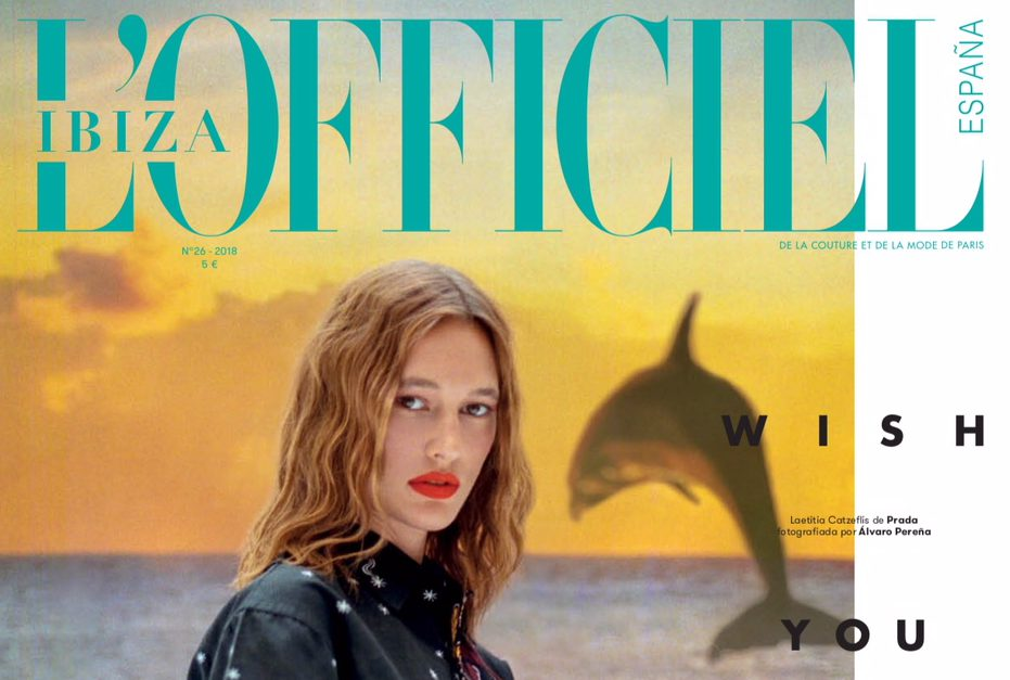 l'officiel espana ibiza magazine cover