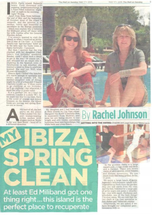 mail on sunday ibiza spring clean article may 2015