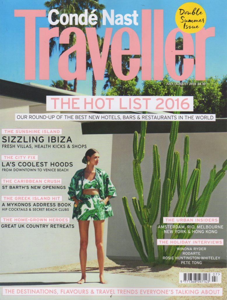 cn traveller the hot list 2016