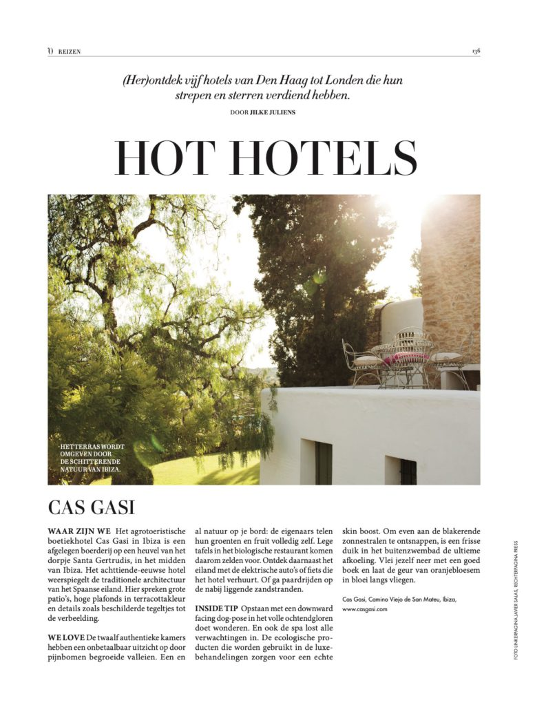 l'officiel august 2016 hot hotels