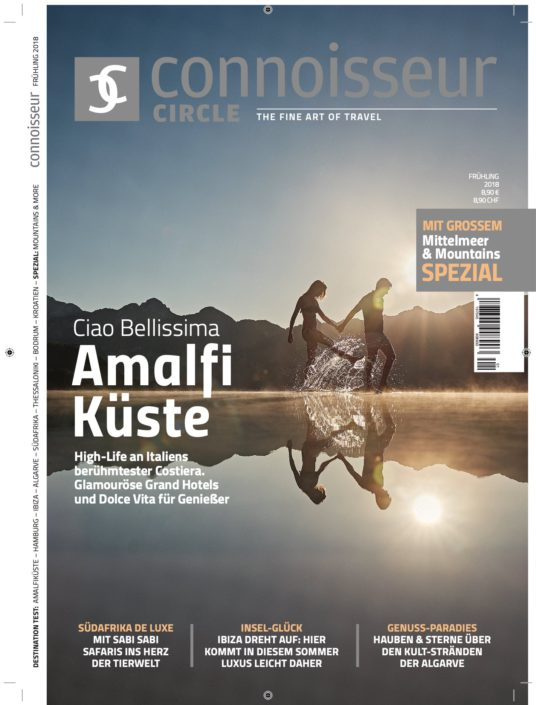 connoisseur circle magazine cover
