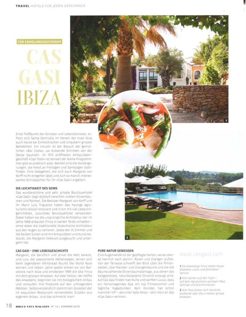 dolce vita travel beauty and lifestyle magazine cas gasi ibiza feature