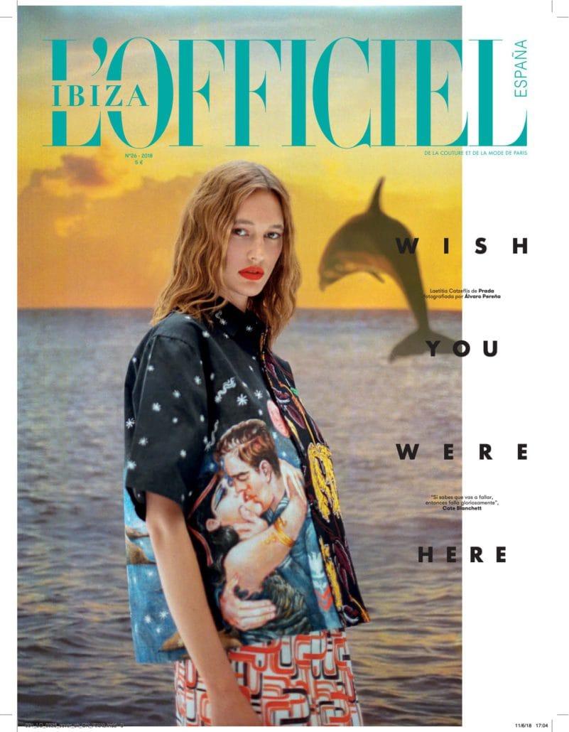 l'officiel magazine cover ibiza