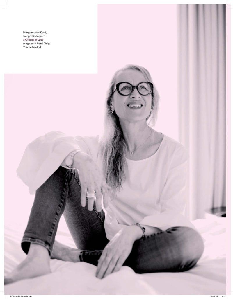 l'officiel magazine margaret von korff feature