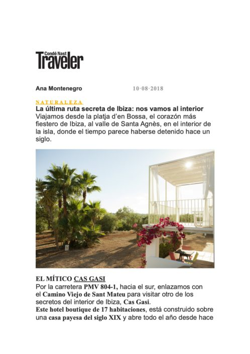 conde nast traveler cas gasi feature