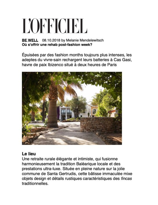 l'officiel paris cas gasi