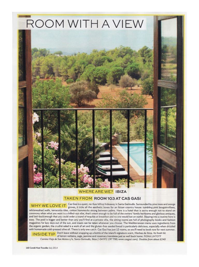 conde nast traveller ibiza hotels article room with a view july