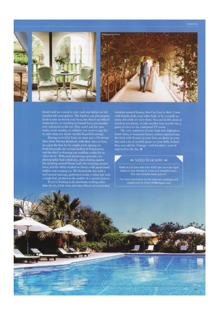 vantage magazine article feature cas gasi hotel ibiza