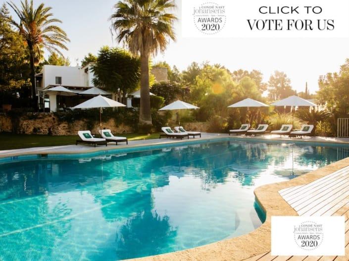 Conde Nast Awards 2020 Cas Gasi Ibiza Agroturismo